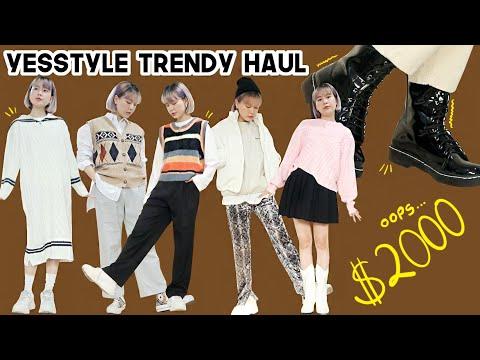 HUGE Yesstyle Casual + Trendy Korean Clothing Haul | Q2HAN