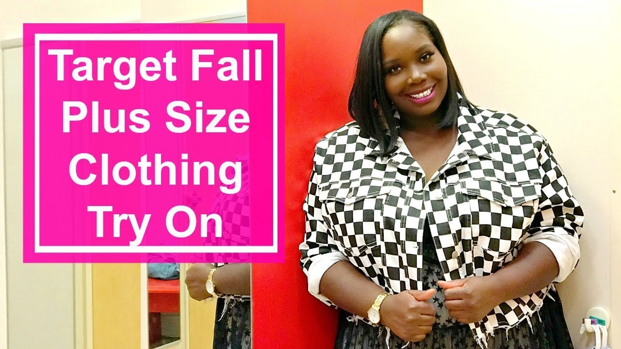d0507968 Target Fall Plus Size Clothing Try On/Inside The Dressing Room - YouTube