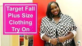Target Fall Plus Size Clothing Try On/Inside The Dressing Room