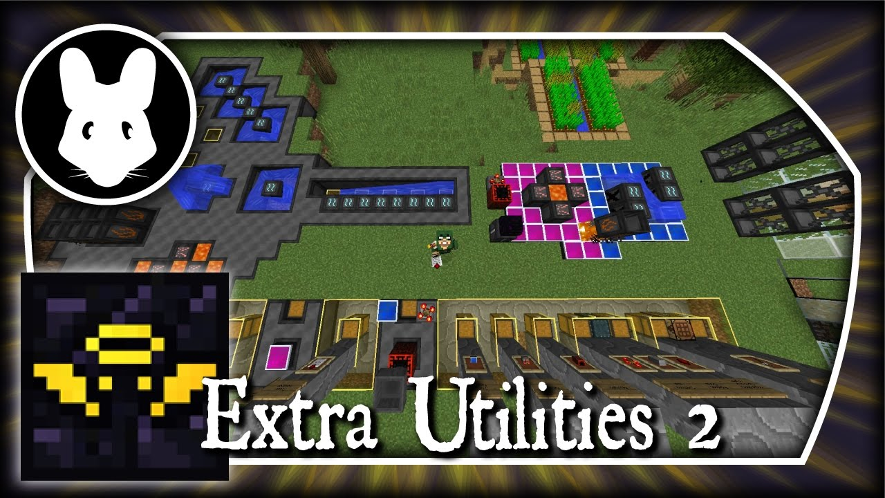 Extra Utilities 2: Starting with Grid Power! Part 1 - Minecraft 1 10