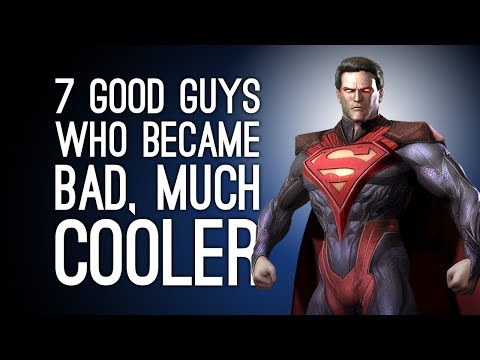 7 Good Guys Who Became Bad Guys, Much Cooler