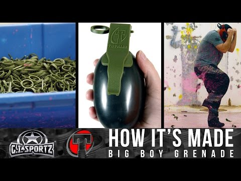 How Paintball Grenades Are Made