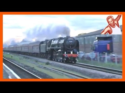 Trains At High Speed: Steam Engines (UK Locos) Compared To Modern Traction