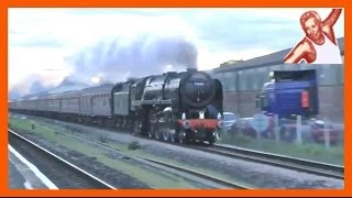 Trains At High Speed: Steam Engines (Locos), TGVs, ICEs, USA Acelas and China -- The World