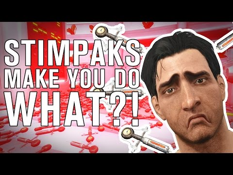 The SCIENCE! Behind STIMPAKS in Fallout