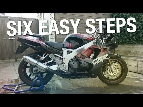 how to get motorcycle running after winter
