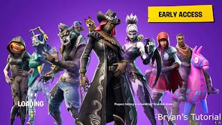 How to download fortnite on PC (windows 7,8,10)