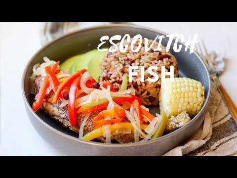 How To Make: Escovitch Fish