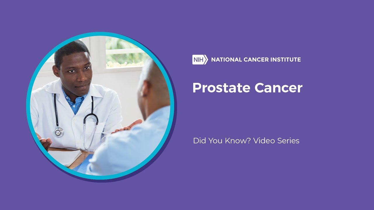 prostate cancer national cancer institute