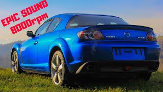 Mazda RX8!! Rotativo da 8000rpm! - Test Drive by Six Wheels