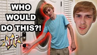 FAN TRIED BREAKlNG INTO OUR HOUSE!!