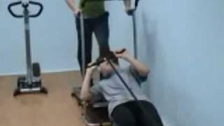 Урок физ-ры в школе №499