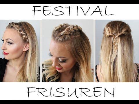 Ganz Einfache Festival Frisuren Easy Festival Hairstyles