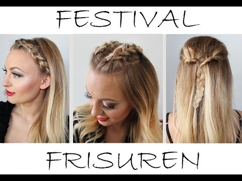 Festival frisuren leicht