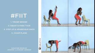 FIIT | 4 Moves For a Full-Body Workout