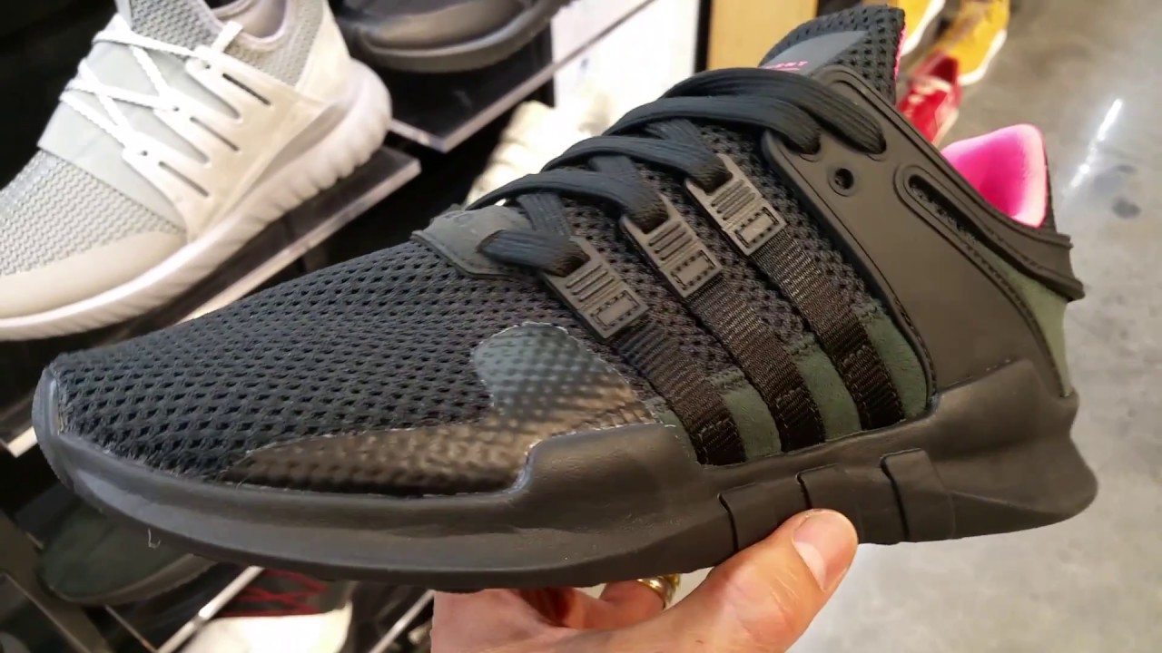 buy popular 587eb 737ce Latest Release Adidas EQT Equipment ADV SHOES SNEAKERS KICKS Full HD 2017