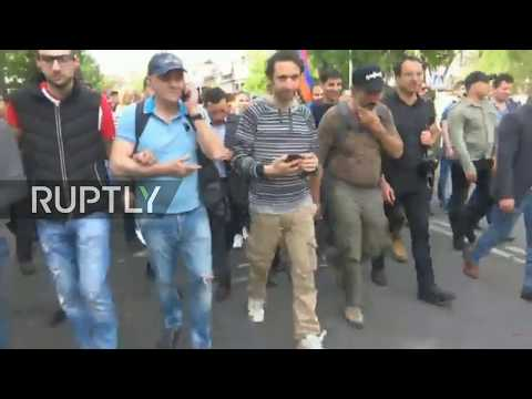 Live: Opposition calls for new anti-government demonstration in Yerevan