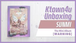 [Ktown4u Unboxing] SUNMI - the Mini Album [WARNING] 선미 워닝 언박싱