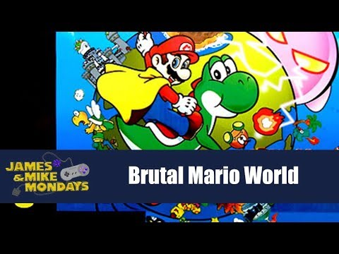 Brutal Super Mario World - James & Mike Mondays