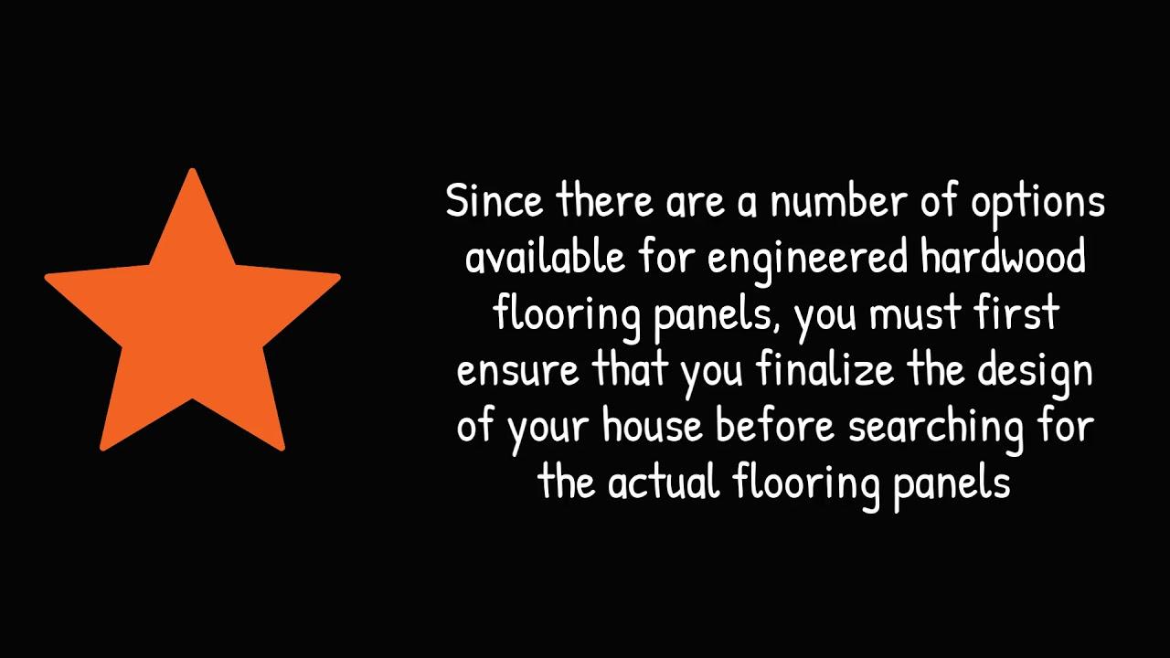 How to Choose Engineered Hardwood Flooring