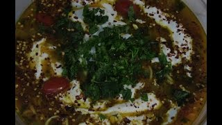 Afghan Noodles With Meatballs Recipe - Ash-e Koofta Dar