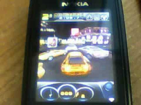 NFS CARBON 3d mobile - Nokia 6300