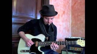 50 Eclectic Blues Licks - #1 Greasy Fingers - Guitar Lesson - Jeff McErlain