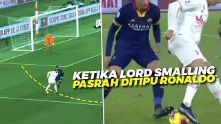 PINTER BANGET Lihat Aksi & Skills Jenius Ronaldo Saat Berhasil Tipu Lord Smalling