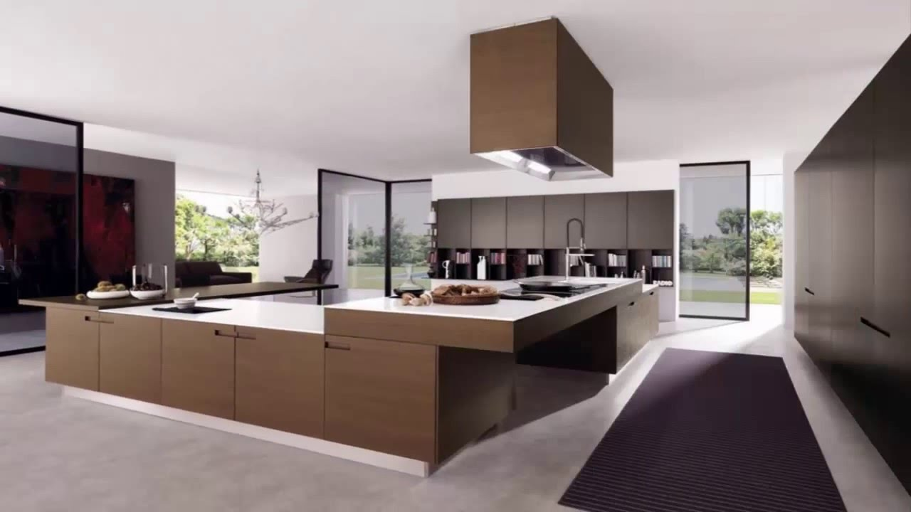 The best modern kitchen design ideas youtube Kitchen design pictures modern