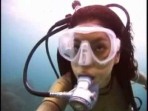 Angel Asian scuba