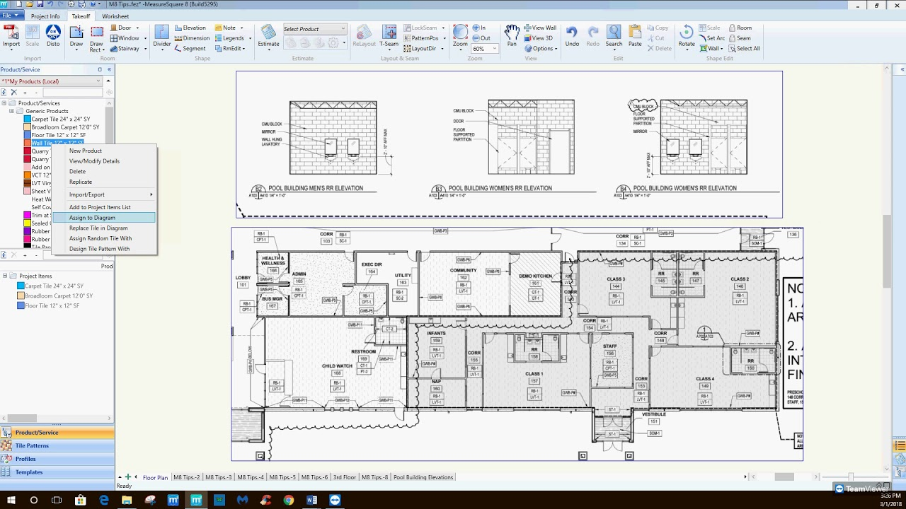 Best practice to use Measure Square 8 for multi-family project