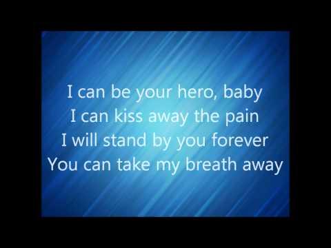 Enrique Iglesias Hero lyrics HD