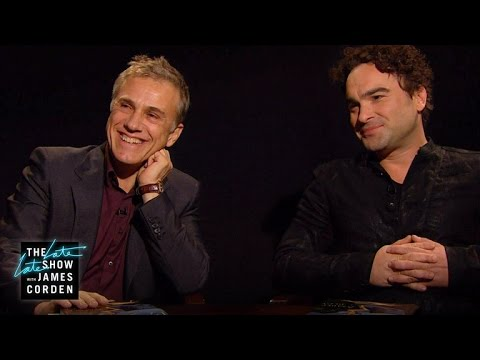 Book Club: How to Be a Bad Bitch w Christoph Waltz & Johnny Galecki