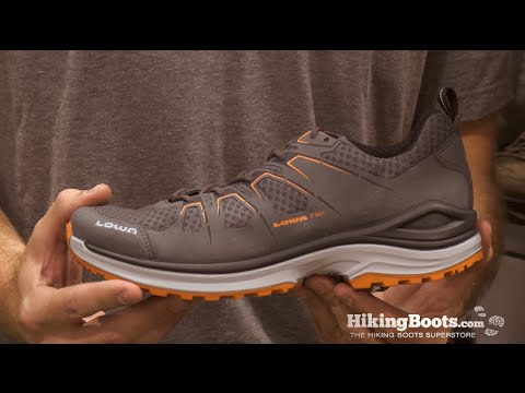 52ae5b0a864 Lowa Innox Evo Lo at Summer Outdoor Retailer 2014 - YouTube