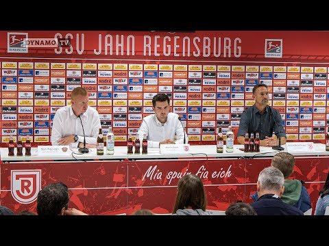 5. Spieltag | SSV - SGD | Pressekonferenz nach dem Spiel