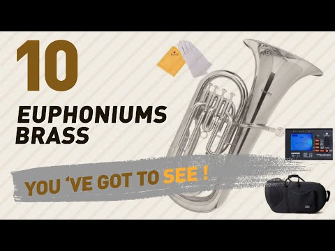 Euphoniums Brass, Top 10 Collection // New & Popular 2017