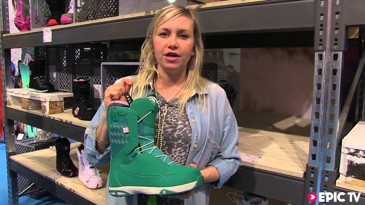 Snowboard Boots Preview: Salomon 2014 Women's Ivy Boots ISPO 2013