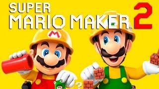 SUPER MARIO MAKER 2 - O Início de Gameplay!!!
