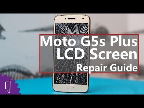 Moto G5s Plus LCD Screen Repair Guide丨Display Broken