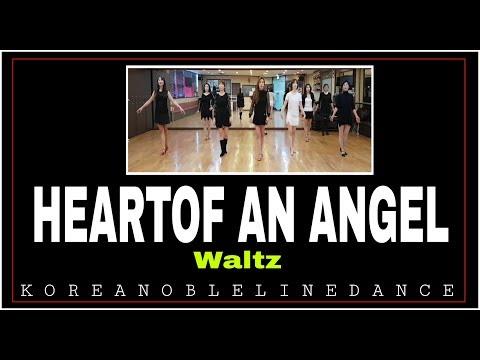 HEART OF AN ANGEL Line Dance (Beginner / Intermediate waltz )Willie Brown
