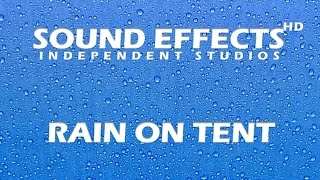 SFX: RAIN ON TENT- REGEN AUF ZELT- NATURE SOUNDS RELEXATION SLEEP MEDITAION