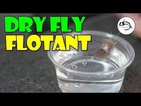 How To Keep Your Dry Fly FLOATING?