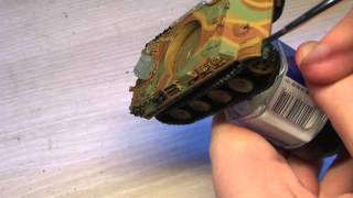 FoW: Painting A German Panther Tank (PART 2/3)