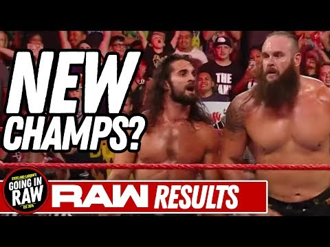 NEW WWE Champs Crowned? WWE Raw Review & Full Results | Going In Raw Pro Wrestling Podcast