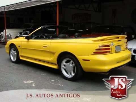 Cl Mustang >> Mustang 1995 GT Conversível.wmv - YouTube