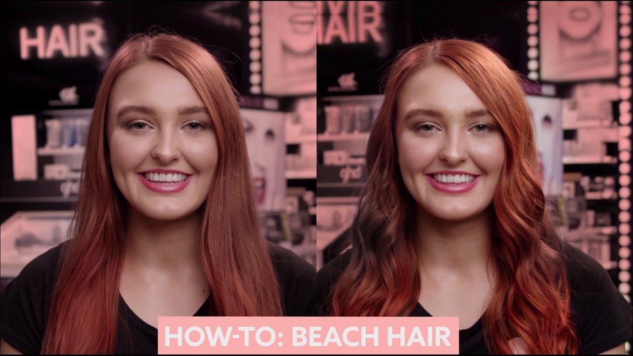 How To: Beach Hair   MECCA Beauty Junkie