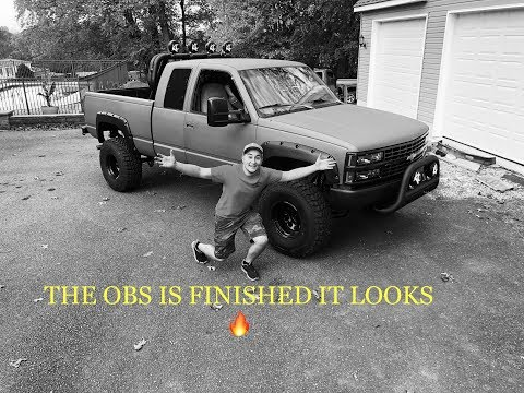MY TRUCK IS FINALLY DONE! HUGE OBS REVEAL / UPDATE