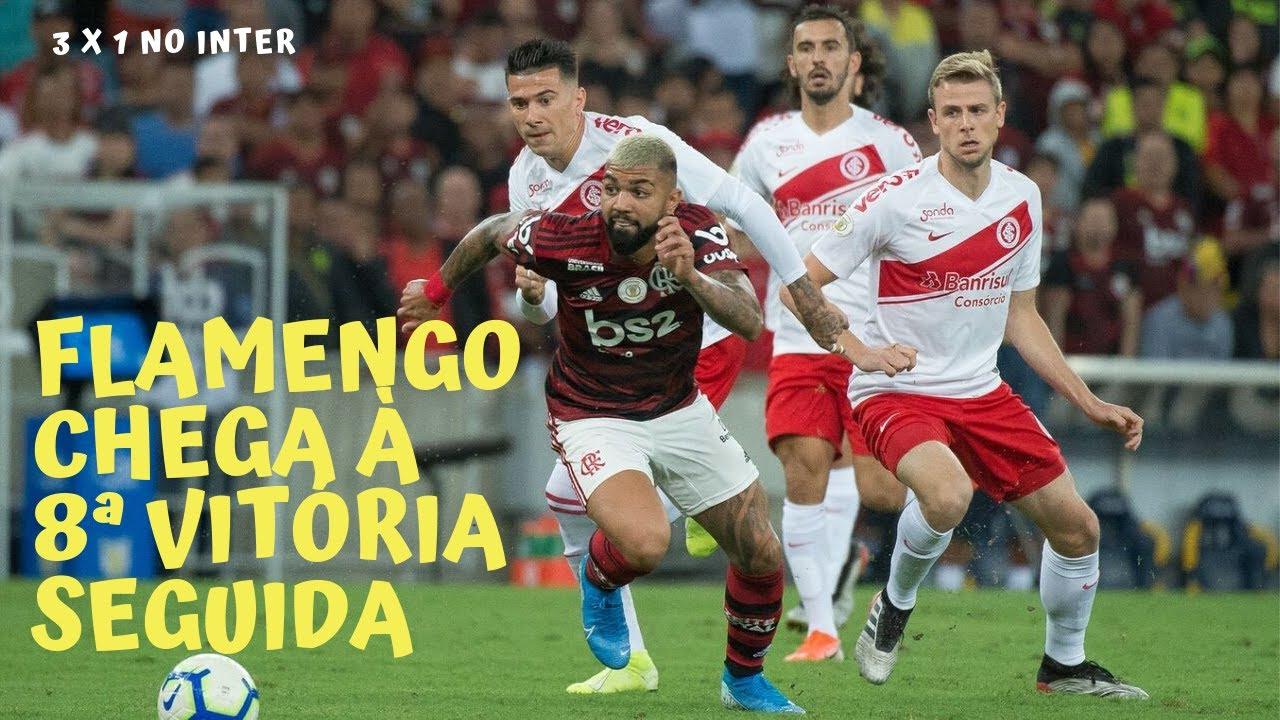 Arbitragem Ruim Flamengo Abaixo Do Que Joga Inter Mutilado E Guerrero Enterrando O Próprio Time