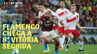 Arbitragem ruim, Flamengo abaixo do que joga, Inter mutilado e Guerrero enterrando o próprio time