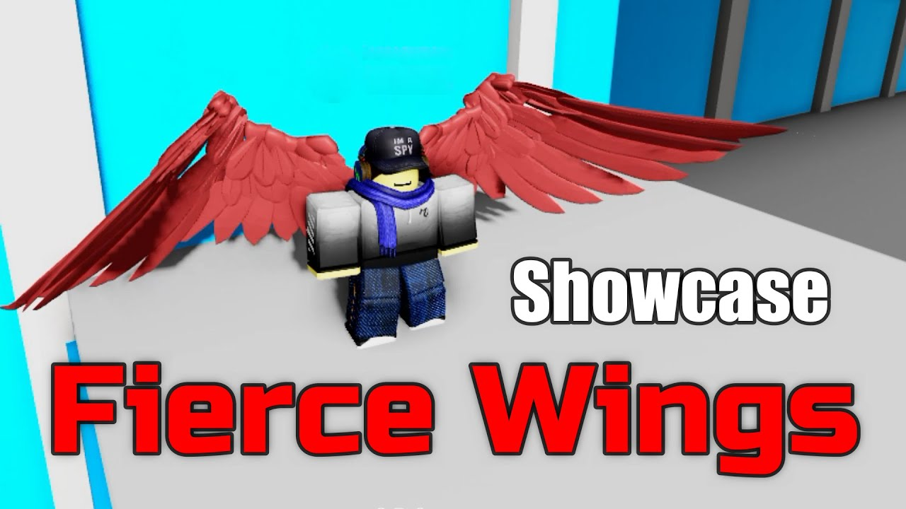 Fierce Wings Showcase[Boku No Roblox:Remastered]